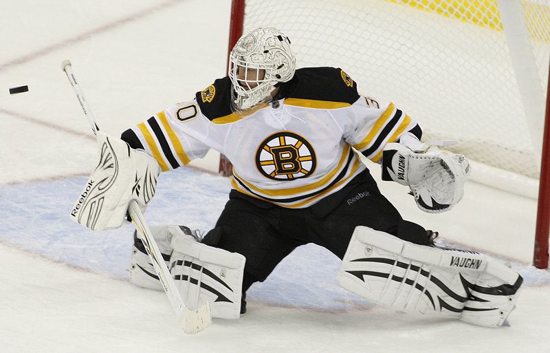 Tim Thomas has recovered from offseason hip surgery to claim the job as Boston's No. 1 goalie. The backup last season, he hasn't lost a game this season, going 4-0-0.