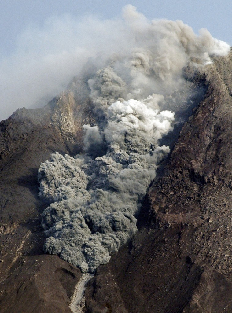 The Associated Press In addition to a tsunami, Indonesia is dealing with a volcano on the island of Java that has killed 35 people this week. The volcano erupted five times Friday.