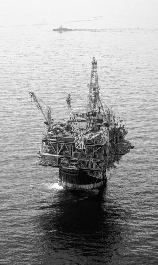 Back to work: Chevron is relying on its Genesis oil rig and others in the Gulf of Mexico to shore up profits.