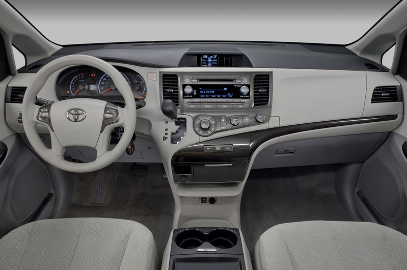 Inside, Sienna's roominess, comfort and accommodations make it seem like a limousine to some young passengers.