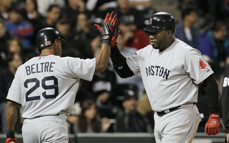 Adrian Beltre and David Ortiz are among the top Red Sox who are free agents this offseason. Chances are good that Beltre will move on and Ortiz will stay, says Tom Caron.