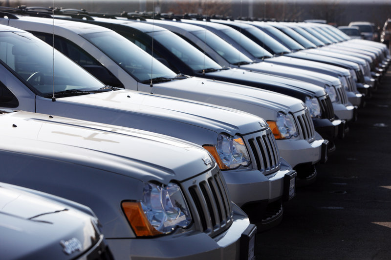Jeep Grand Cherokees like these fueled a 37 percent increase in October sales at Chrysler Group LLC.