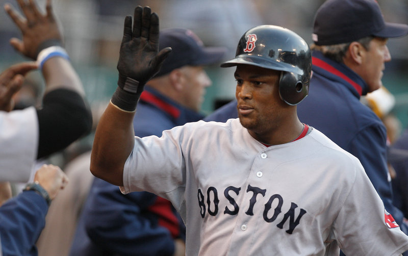 Adrian Beltre led Boston with a .321 batting average and hit 28 home runs after a poor 2009 in Seattle.