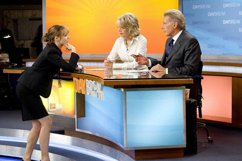 Rachel McAdams, left, stars with Diane Keaton and Harrison Ford in