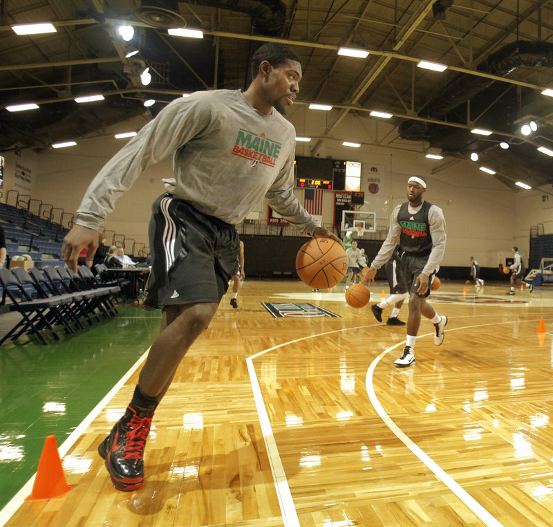 Paul Harris is ready to take the court this season for the Maine Red Claws after being forced to sit out an entire year after an ankle injury suffered in training camp for Utah.