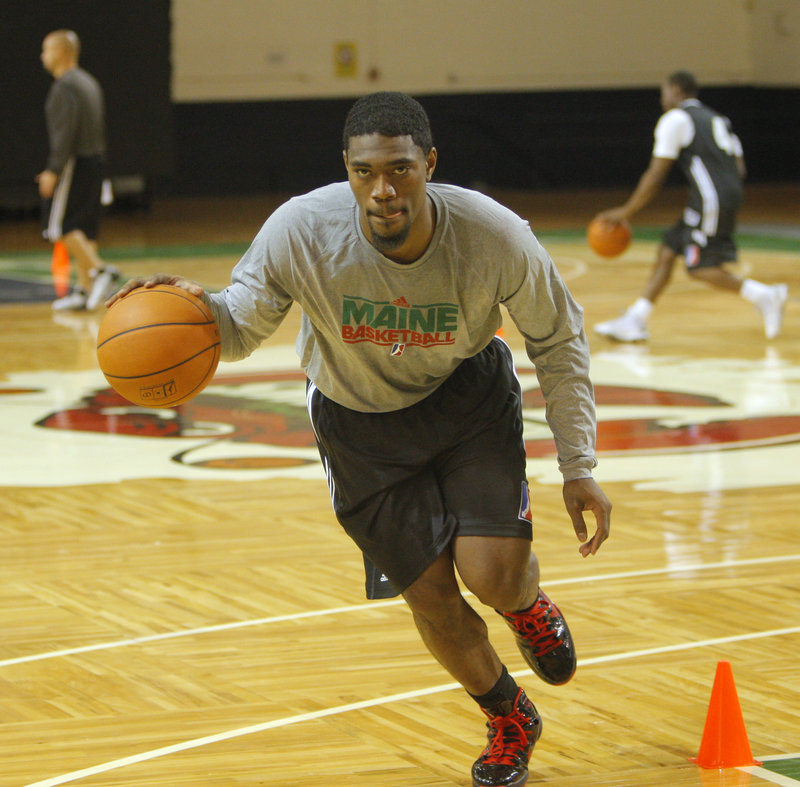 Former Syracuse guard Paul Harris, who missed all of last season with an injury, is healthy again and eager to show Red Claws staff and fans what he can do on the court.