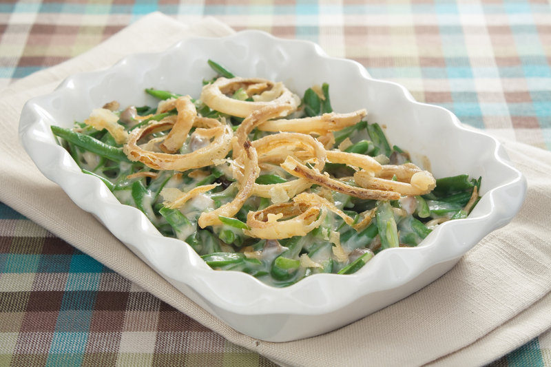 The green bean casserole is celebrating its 55th anniversary this year. Yum.