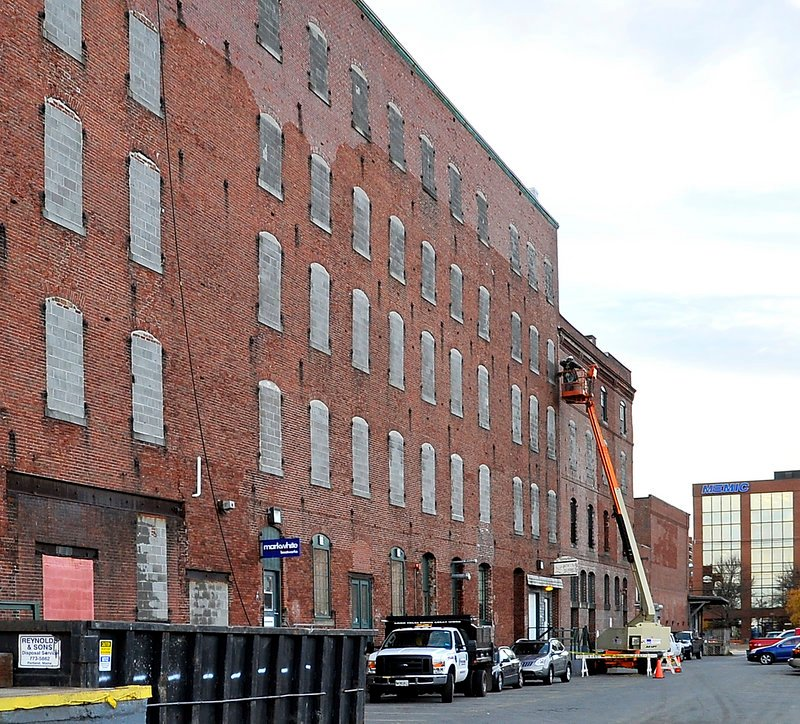 Work is under way to transform the 160-year-old structure that has been used as a self-storage space for decades.