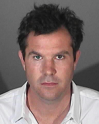 Ryan Bowman, shown in a booking photo, surrendered to authorities in West Hollywood after a pedestrian was killed in a hit-and-run accident.