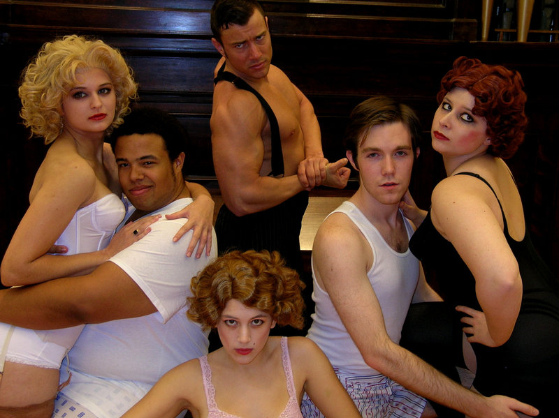 """The cast of """"The Wild Party,"""" which feels like a cross between the musicals """"Chicago"""" and """"Cabaret."""""""
