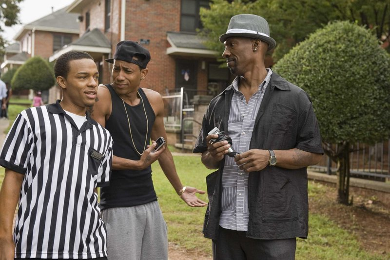 Bow Wow, left, Brandon T. Jackson and Charlie Murphy in the good-natured and consistently funny