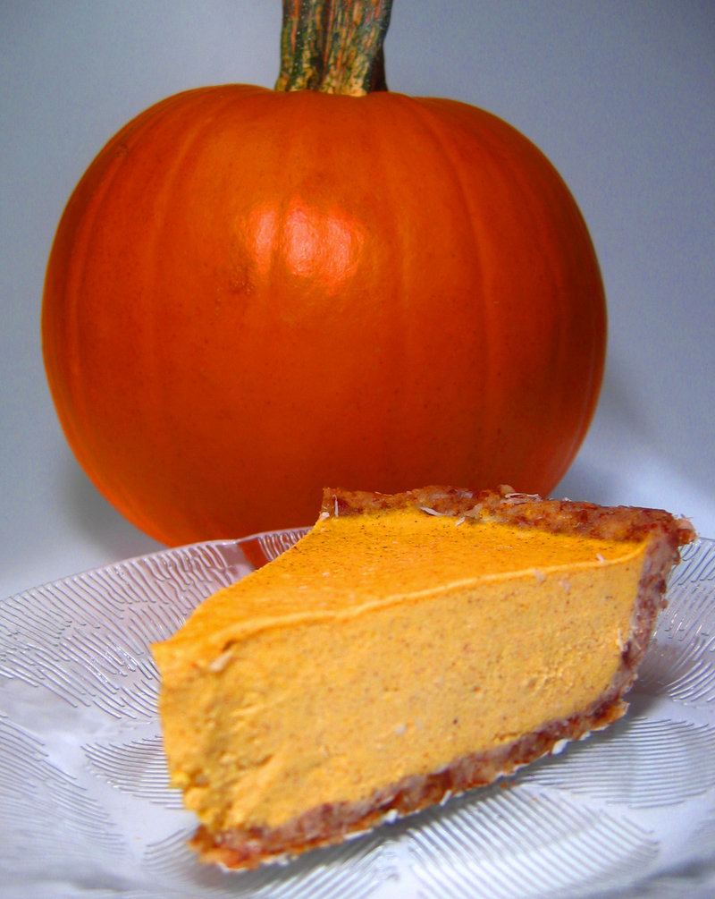 Parkview Adventist Medical Center's Raw Pumpkin Cheesecake.