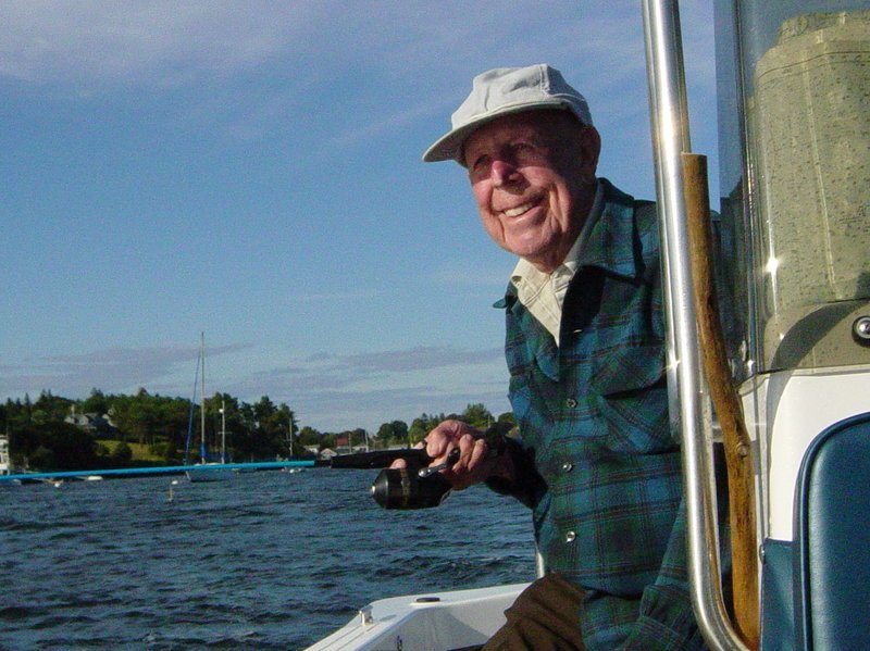Clifford Henry Sinnett frequently took his family fishing off Bailey Island, or to one of the nearby islands to explore. Mr. Sinnett died Nov. 15 in Portland at age 91.