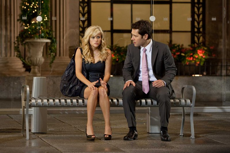 """Reese Witherspoon and Paul Rudd in """"How Do You Know."""""""