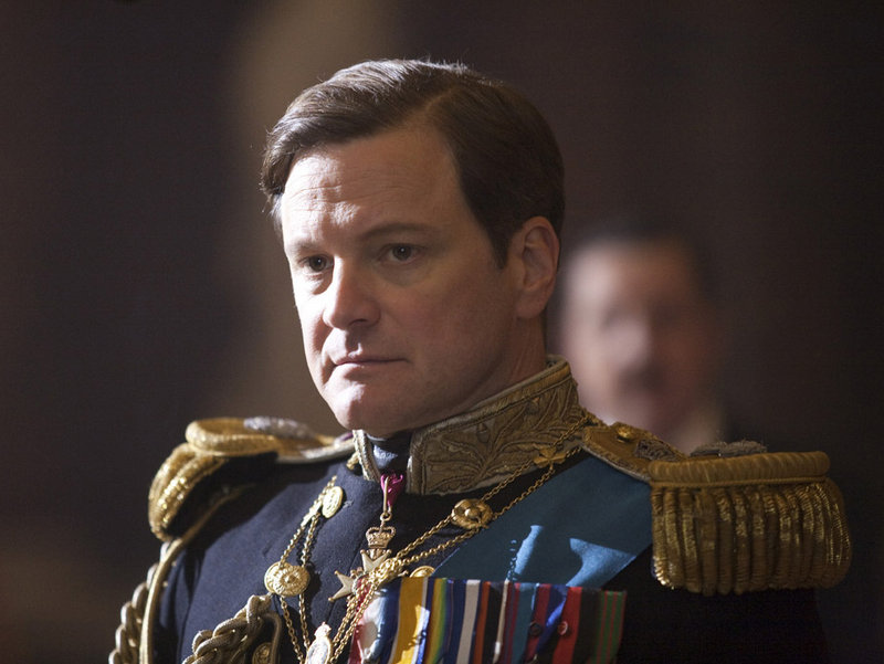 """Colin Firth in """"The King's Speech."""""""