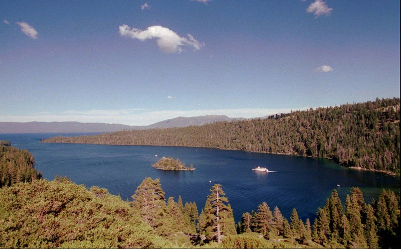 """Lake Tahoe has warmed up by 3 degrees since 1985, according to NASA scientists. """"In some places the lakes appear to be warming more than the air temperature,"""" one said."""