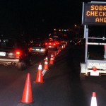 Increasing the use of sobriety checkpoints would be an effective strategy for deterring drunken-driving. bat van Herb Swanson Sobriety Checkpoint