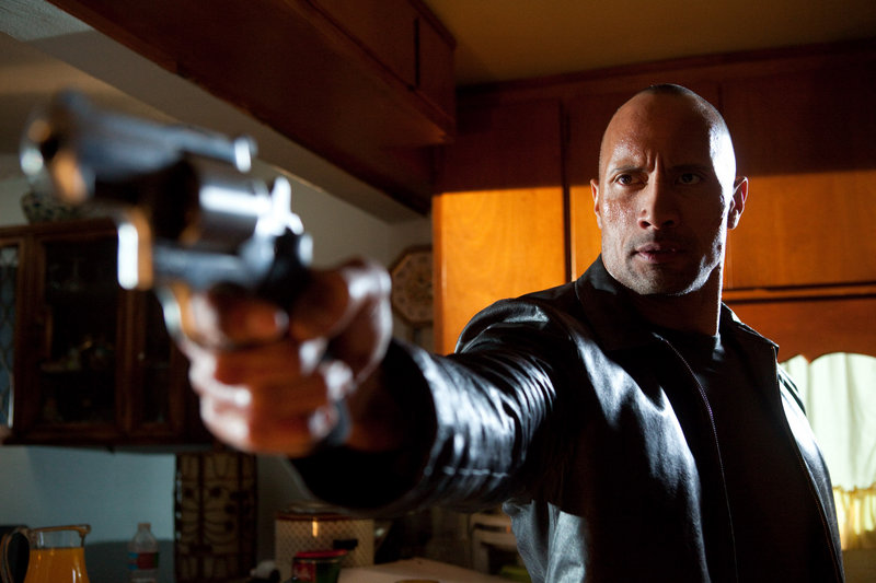 Dwayne Johnson stars as an angry ex-con out to avenge the murder of his brother in Faster.