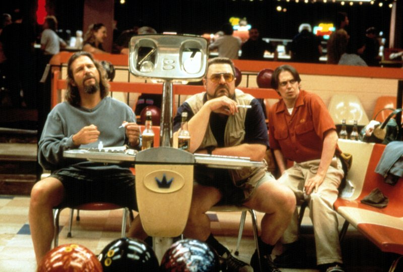 """Jeff Bridges, John Goodman and Steve Buscemi in """"The Big Lebowski."""" Dave Cousins' passion for the movie is behind a mini-Lebowski festival Saturday."""