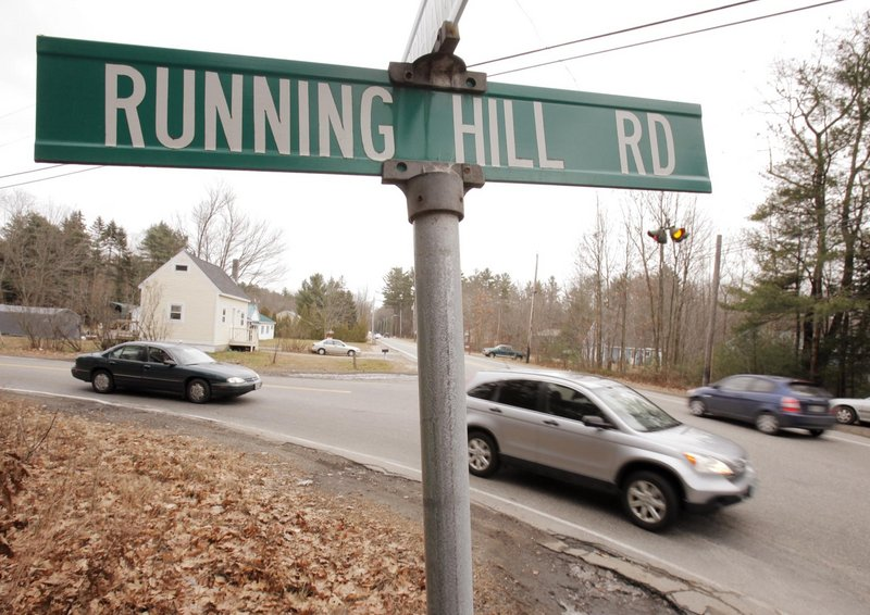 A proposal to build a road between Running Hill Road and Route 114 is expected to ease congestion where the roads join.