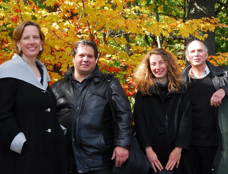 The DaPonte String Quartet performs Friday in Newcastle, Saturday in Falmouth and Sunday in Brunswick.