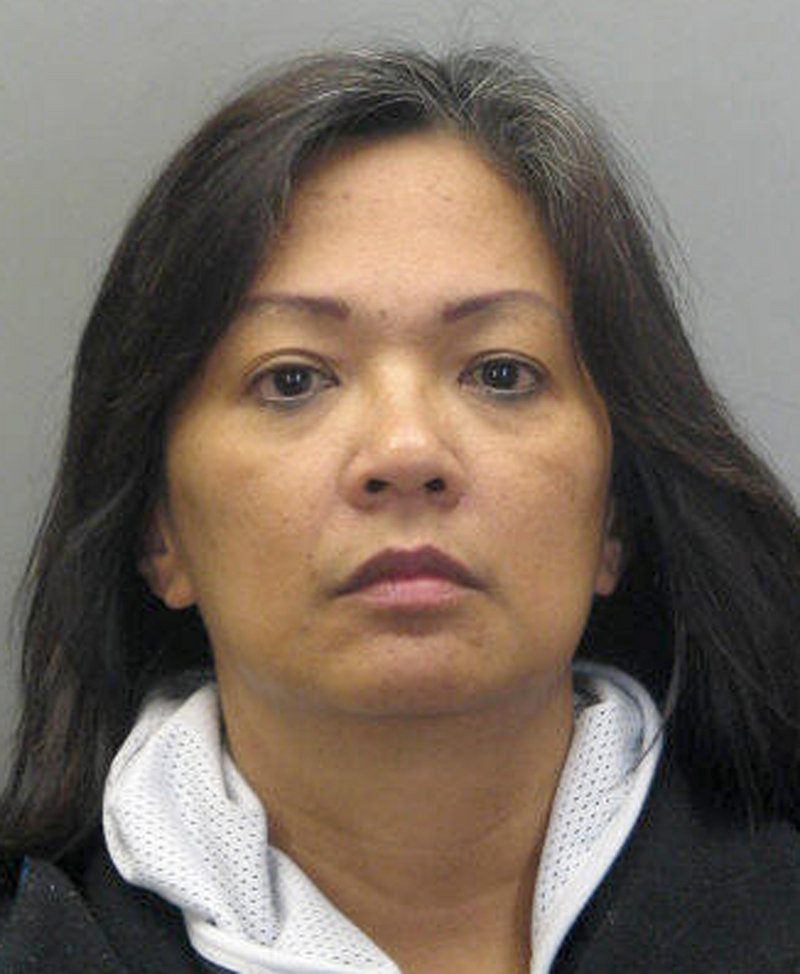Caremela Dela Rosa, 50, is charged with murder in the death of her 2-year-old granddaughter.