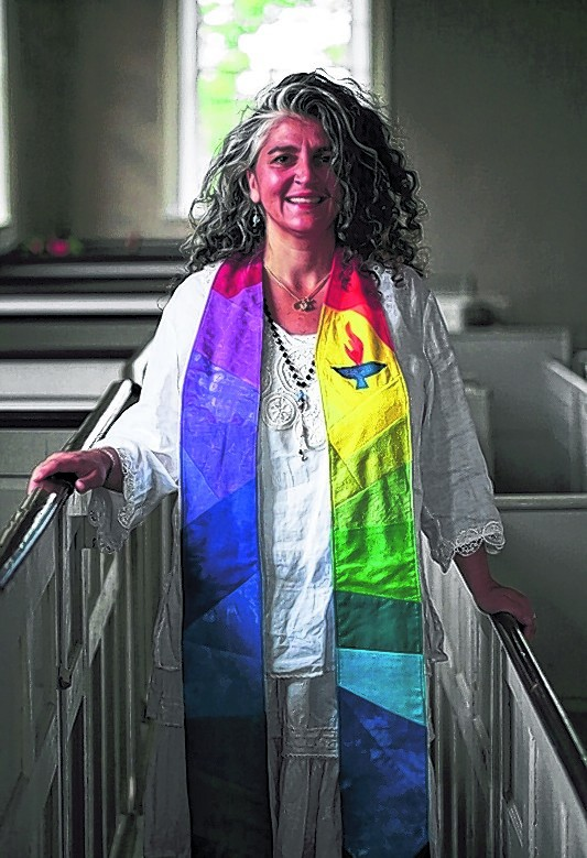 The Rev. Christina Sillari will be installed Sunday as minister of the First Parish Unitarian Universalist Church in Portland, the city's oldest church, after a nearly yearlong search.