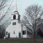 The First Congregational Church of Buxton, located near the intersection of routes 112 and 202, has been independent since 1995.