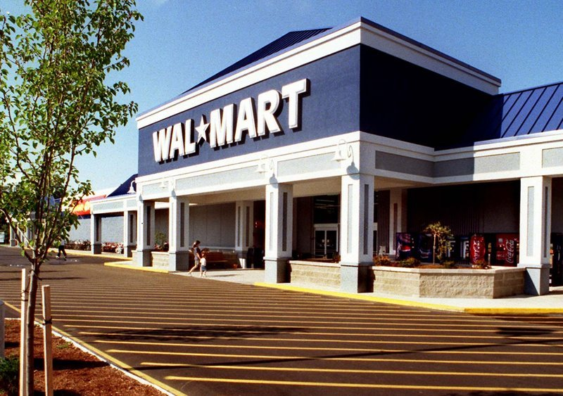 Walmart would like to enlarge its Route 1 store in Falmouth, seen here. However, a plan to expand the store into adjacent space occupied by Regal Entertainment Group's cinemas could be derailed by a proposed zoning change that would limit retail stores in Falmouth to 75,000 square feet.