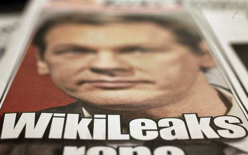 """WikiLeaks founder Julian Assange appears on the cover of Wednesday's New York Post. """"I get undue attacks,"""" he says, """"But then I also get undue credit as some kind of balancing force."""""""