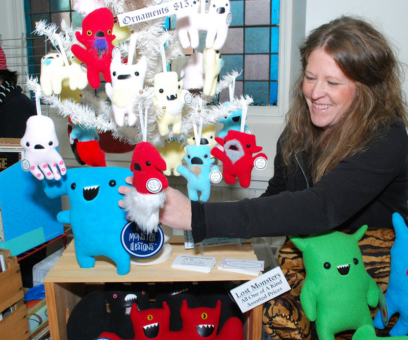 Lost Monster Designs offers playthings for the young and young at heart.