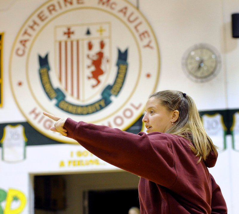 Amy Vachon, the first-year coach at McAuley, learned a lot about winning titles playing for her father Paul at Cony High. She has talent to work with, but takes nothing for granted.