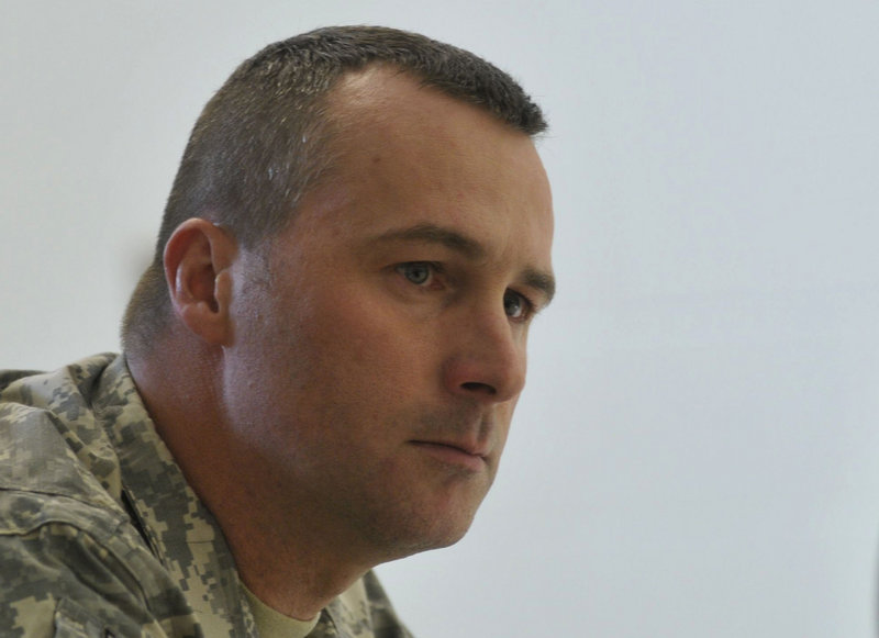 """Capt. Paul Bosse, Maine Army National Guard: """"I don't think you realize how much you've changed until you get home."""""""