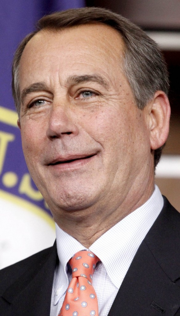 Rep. John Boehner, R-Ohio: Few repercussions for showing his emotions