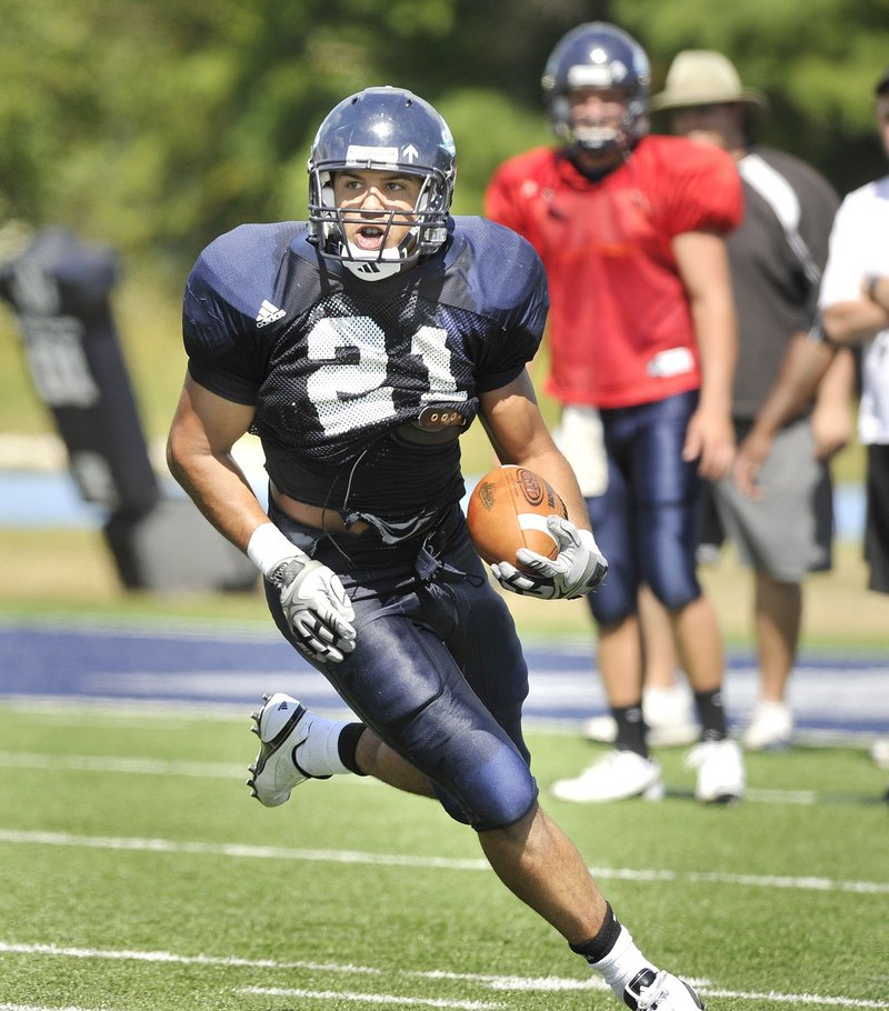 Running back Jared Turcotte has been hampered or shut down by injuries in the last two seasons, but he had knee surgery two weeks ago and plans to be ready next season.