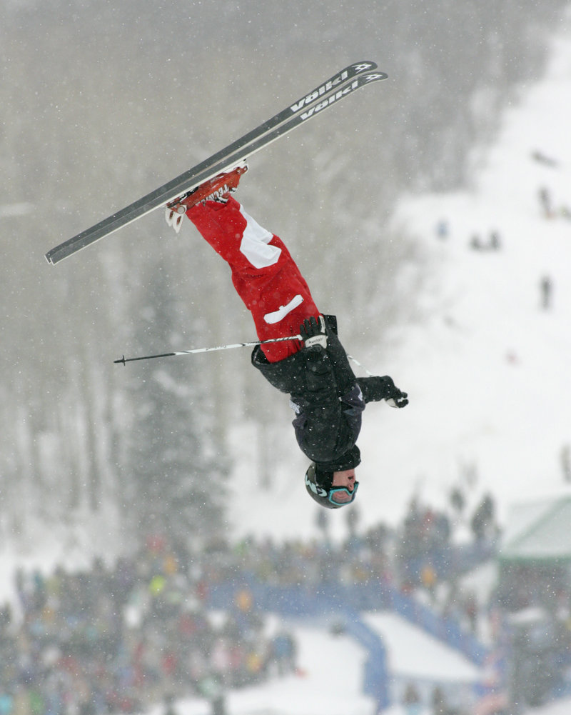 Jeremy Cota of Carrabassett Valley is on the verge of a breakout season as a moguls skier. After finishing one spot short of a trip to the Vancouver Olympics, Cota already has a World Cup top-10 finish this season.