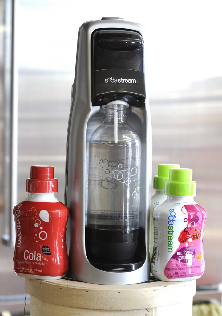 Soda Stream devices to make soda at home are popular with shoppers.