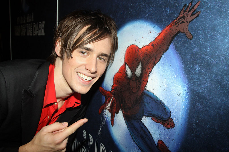 "Actor Reeve Carney is still waiting to portray Peter Parker in the Broadway musical, ""Spider-Man: Turn Off The Dark."""