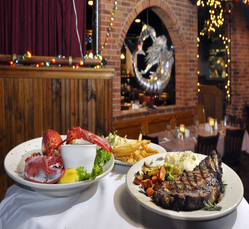 The Old Port Tavern is open both Christmas Eve and Christmas Day. The restaurant is at 11 Moulton St. in Portland.