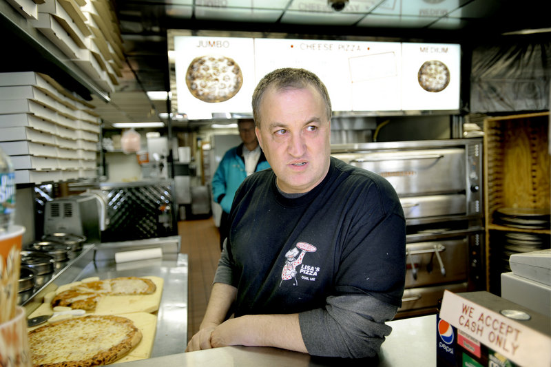 "Lisa's Pizza manager John Murray appreciates OOB365's efforts, but he hasn't seen a change in winter business. ""Not a lot of people want to walk in the cold,"" he said."