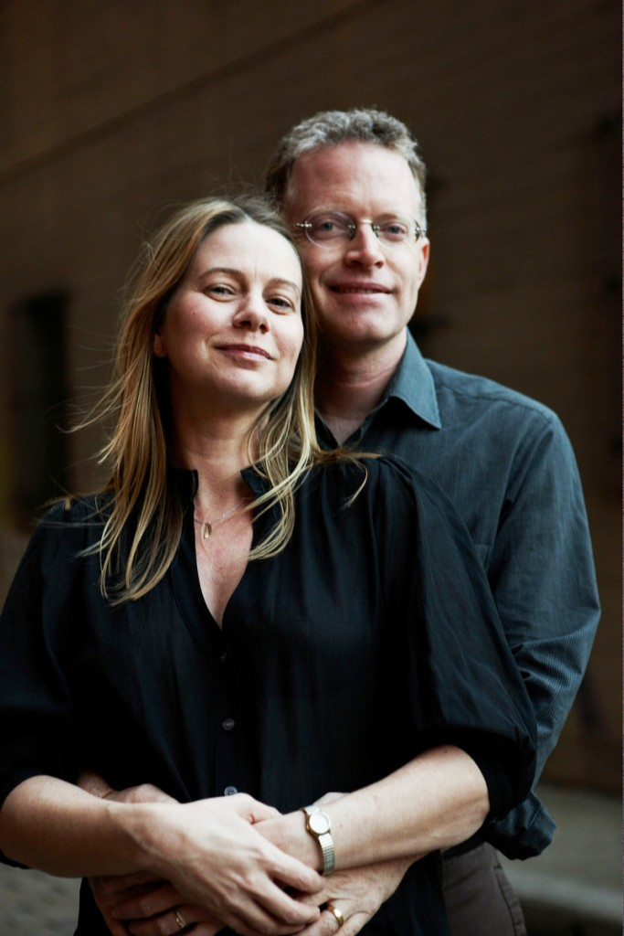 David Rohde, with his wife, Kristen Mulvihill, used Fryeburg as an example to explain to his captors what America was really like.