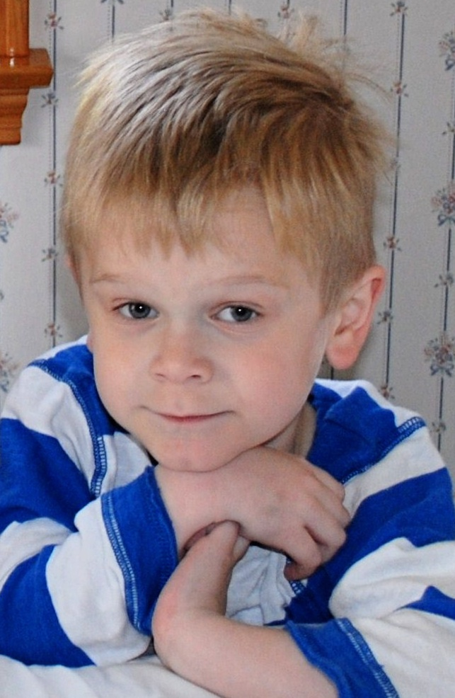 Kyle St. Clair, 6, of Scarborough