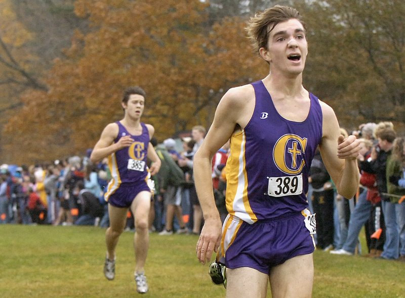Cheverus senior Jack Terwilliger heads into the indoor track season with an eye on the state 2-mile title and a regional championship in the mile.