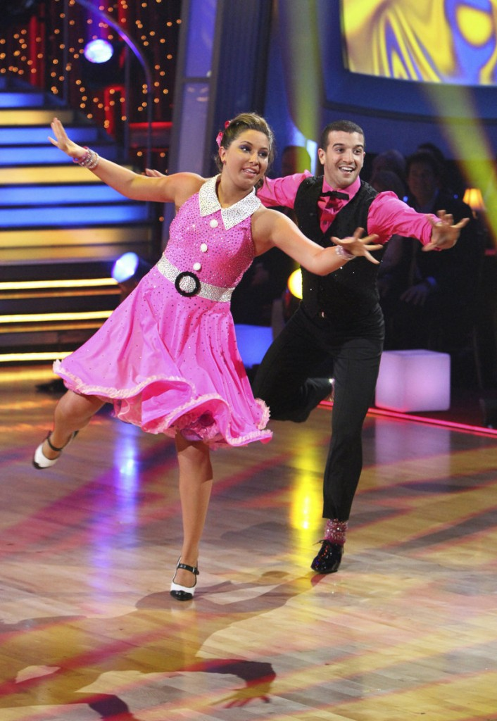 "Bristol Palin and Mark Ballas perform on ""Dancing With the Stars"" in Los Angeles. She has closed on a $172,000 house in Maricopa, Ariz."