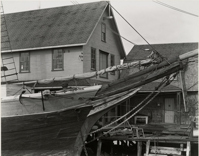 Edward Weston (United States, 1886-1958), Schooner, Kennebunkport, Maine, 1941, gelatin silver print.