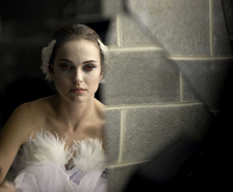 "Natalie Portman portrays a ballerina driven to the brink of insanity in ""Black Swan."""