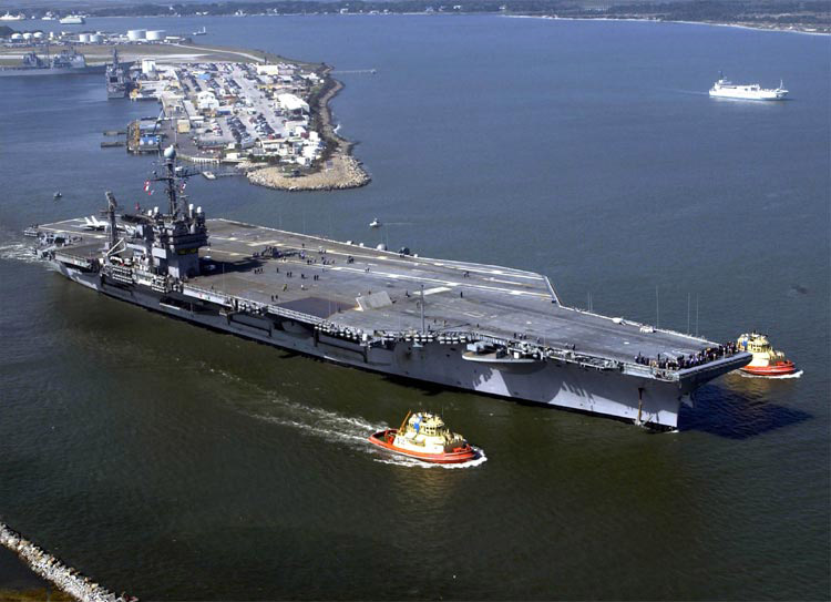 Newport, R.I., is still pursuing the JFK and is expected to move to the Navy's third, and final, phase of the application process.