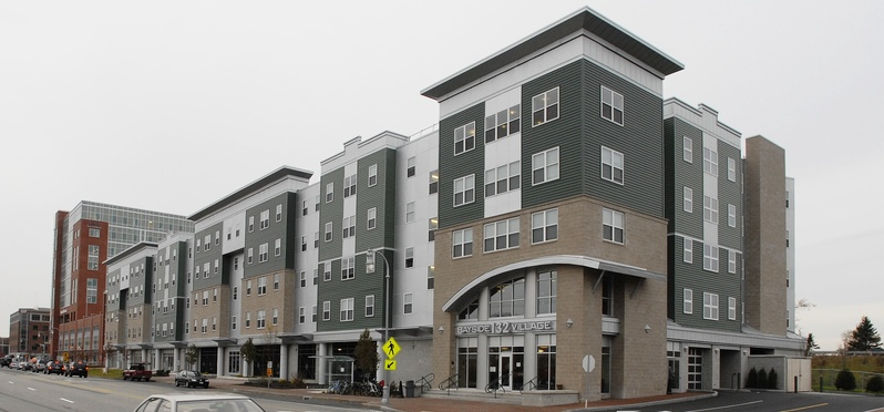 Bayside Village Student Housing on Marginal Way in Portland came under new ownership last month.