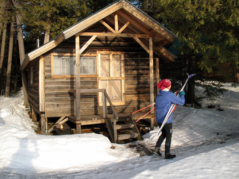 Cross Country Skiers And Hikers Can Stay In One Of The Renovated Cabins Or  The