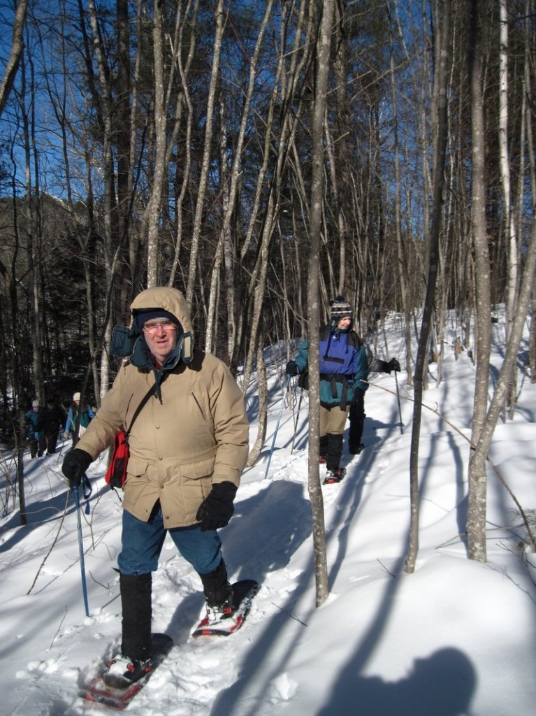 The Greater Lovell Land Trust's first winter walk of the season will take place from 10 a.m. to noon Saturday at the Heald and Bradley Pond Reserve in Lovell. Land trust docents will lead the exploration of the winter landscape. The walk is free and suitable for the entire family; pre-registration is not required. Participants are encouraged to dress for cold weather and to bring a snack and water. Snowshoes are highly recommended. In case of inclement weather, call 925-1056 to confirm the program. Participants will meet at the Flat Hill Parking lot at the end of Heald Pond Road.